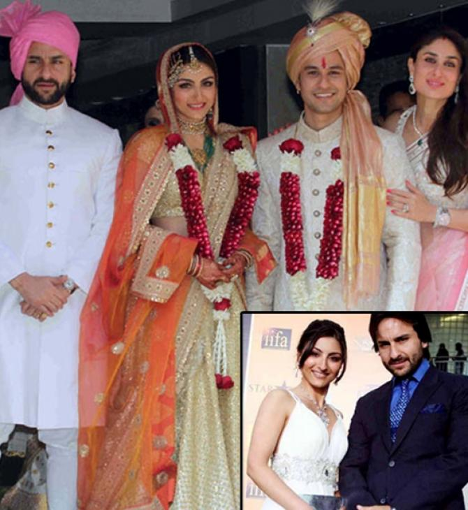 Saif at Soha's Wedding