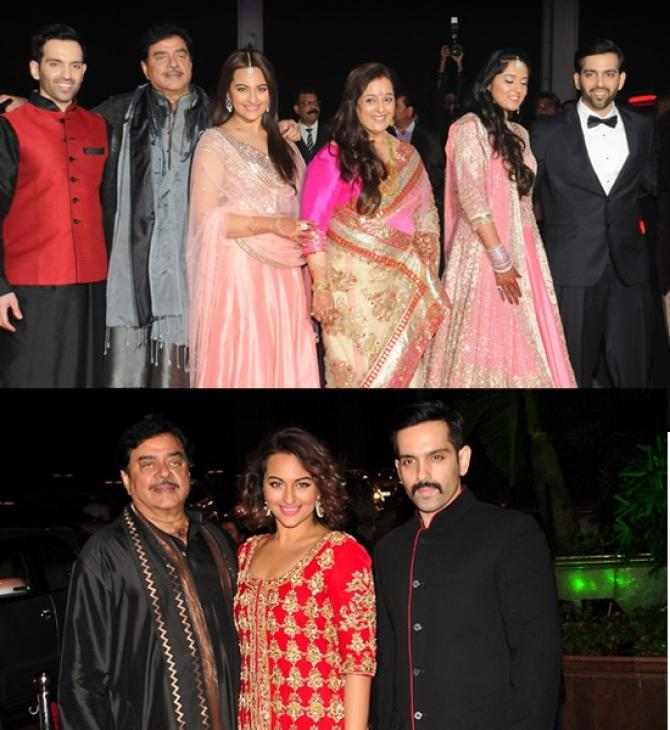 Sonakshi Sinha at Kussh Sinha's wedding