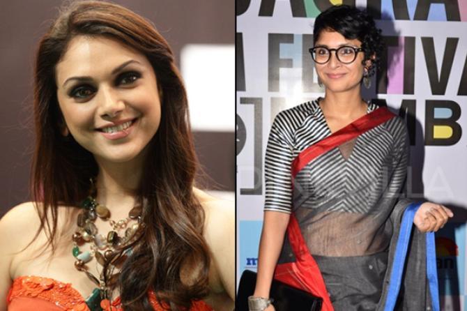 Aditi Rao Hydari and Kiran Rao