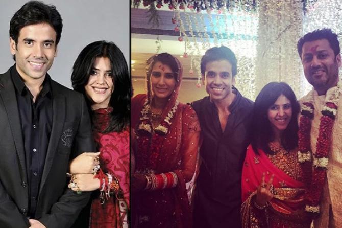 Abhishek Kapoor, Tusshar Kapoor and Ekta Kapoor