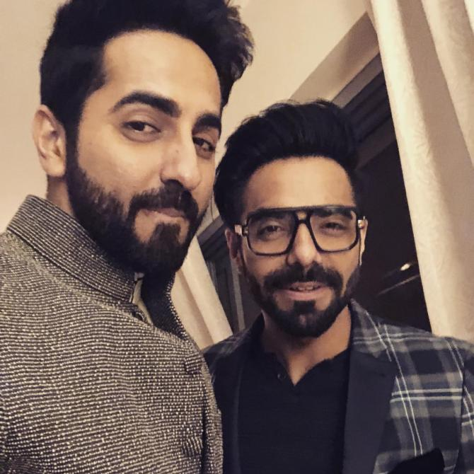 Ayushman and Aparshakti Khurana