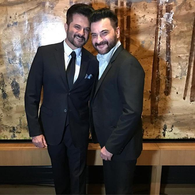 Anil and Sanjay Kapoor