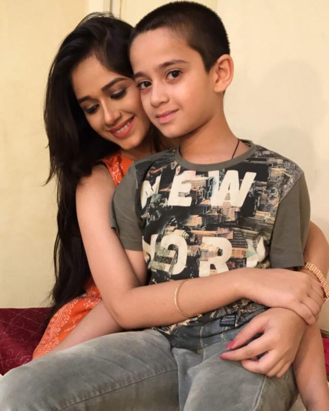 Jannat and Ayaan Zubair