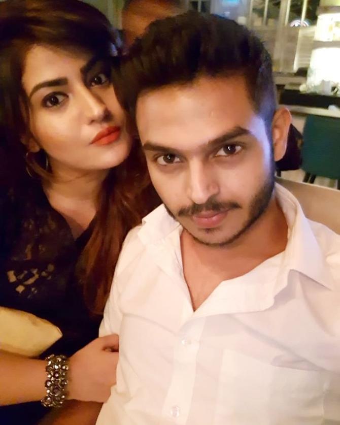 Sidharth Sagar and Subuhi Joshi