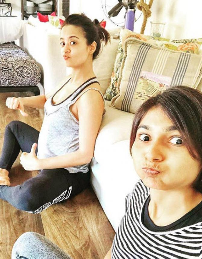 Surveen Chawla's Posts First-Ever Picture With Her Baby Bump