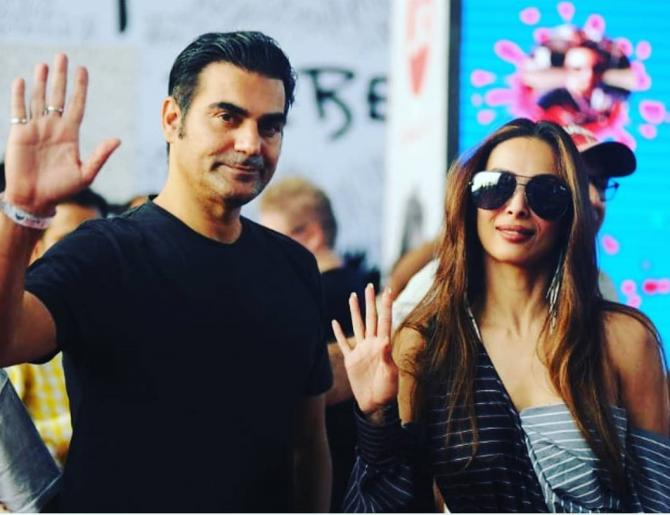 Malaika Arora with ex-husband, Arbaaz Khan