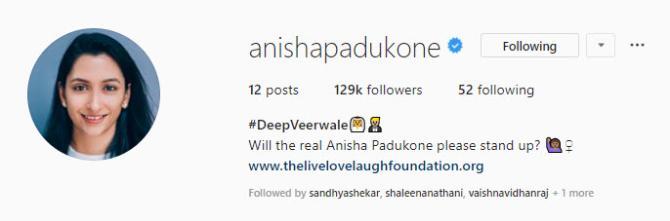 Deepika Padukone Holding Her Mother-In-Law Anju Bhavnani's ...