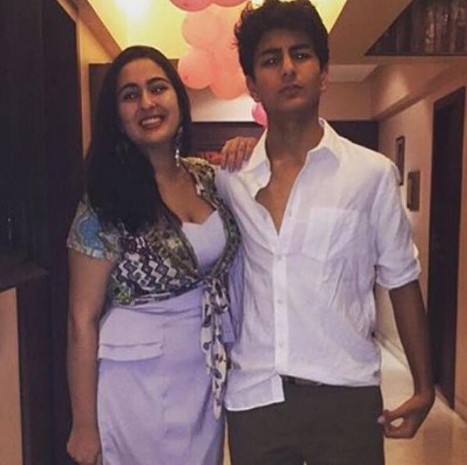 Sara Ali Khan and Ibrahim Khan