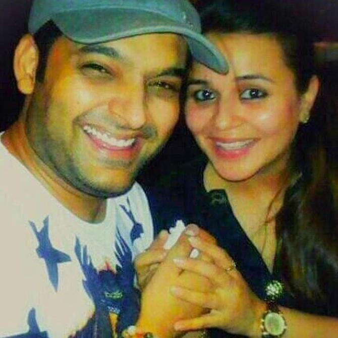 Kapil Sharma and Ginni Chatrath love story