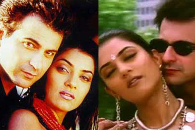 Sushmita Sen And Sanjay Kapoor Love Affair
