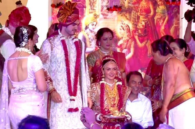 Hema Mailni and Bharat Takhtani