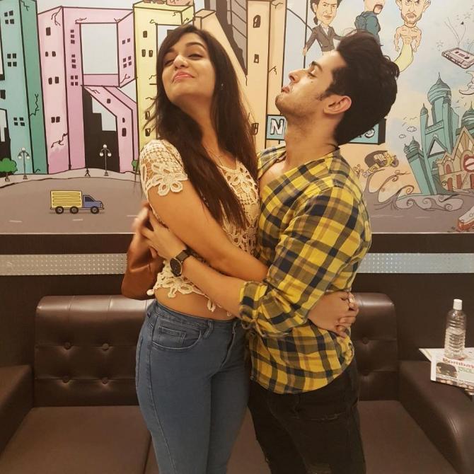 Divya Agarwal and Priyank Sharma