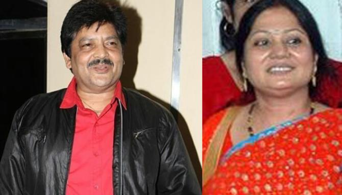 Udit Narayan and Ranjana