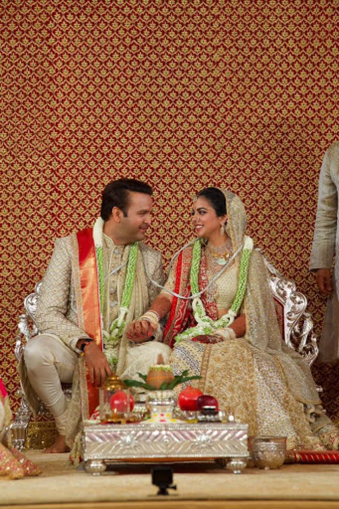 Isha Ambani And Anand Pirama