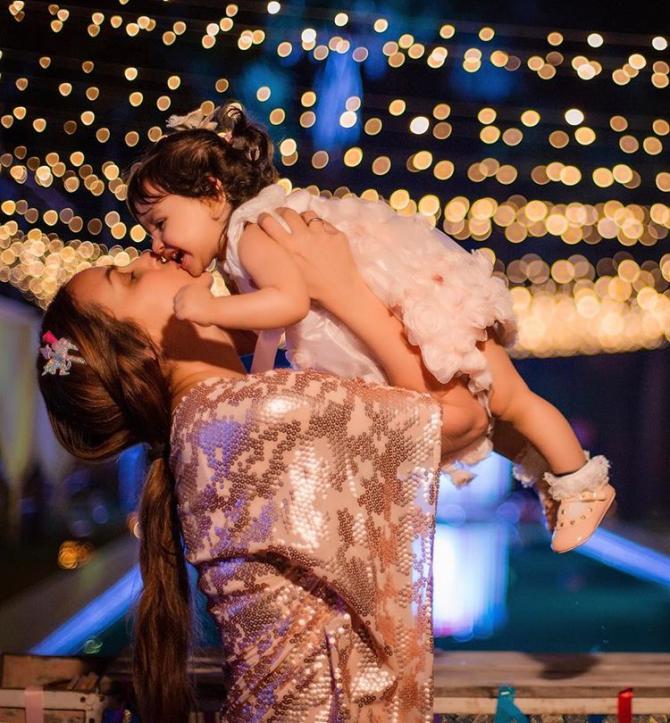 Esha Deol and Radhya Takhtani