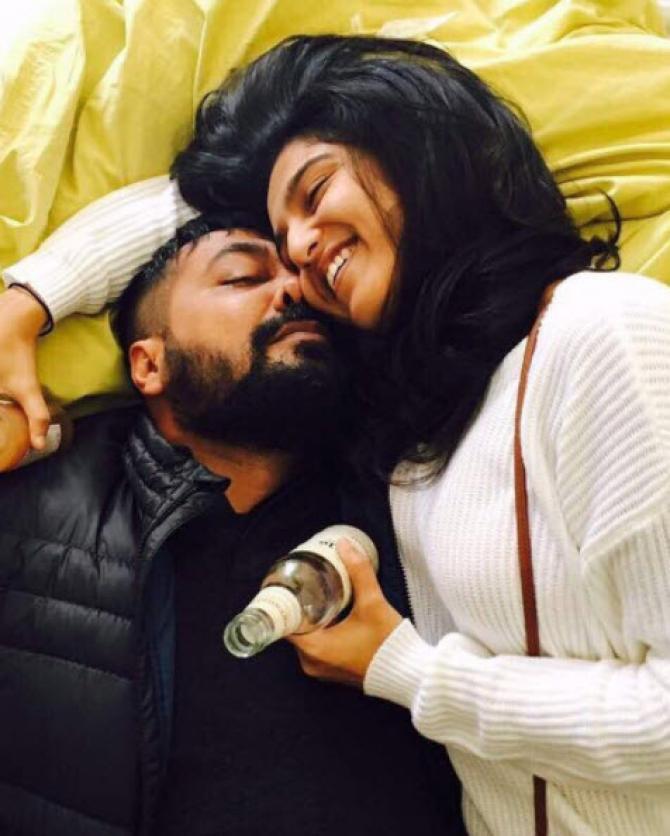 Anurag Kashyap and Shubhra