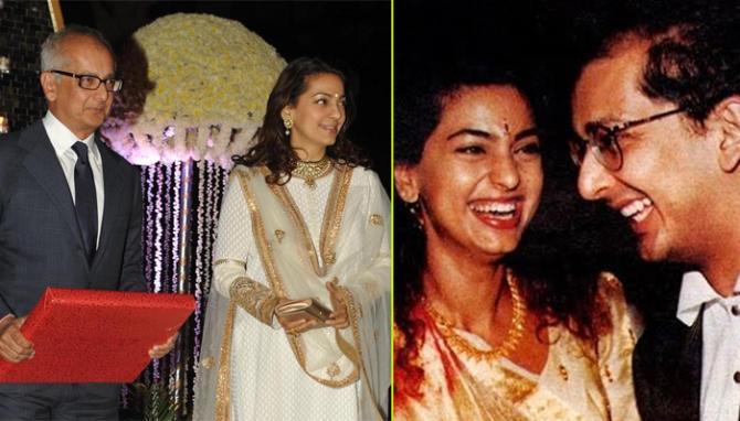 Juhi Chawla and Jay Mehta