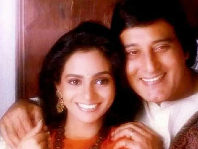 Vinod Khanna and wife Kavita