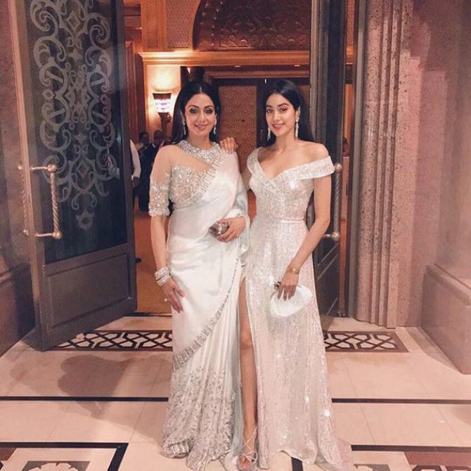 Sridevi Kapoor and Janhvi Kapoor
