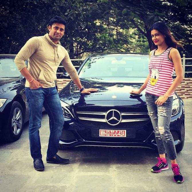 Payal Rohatgi and Sangram Singh
