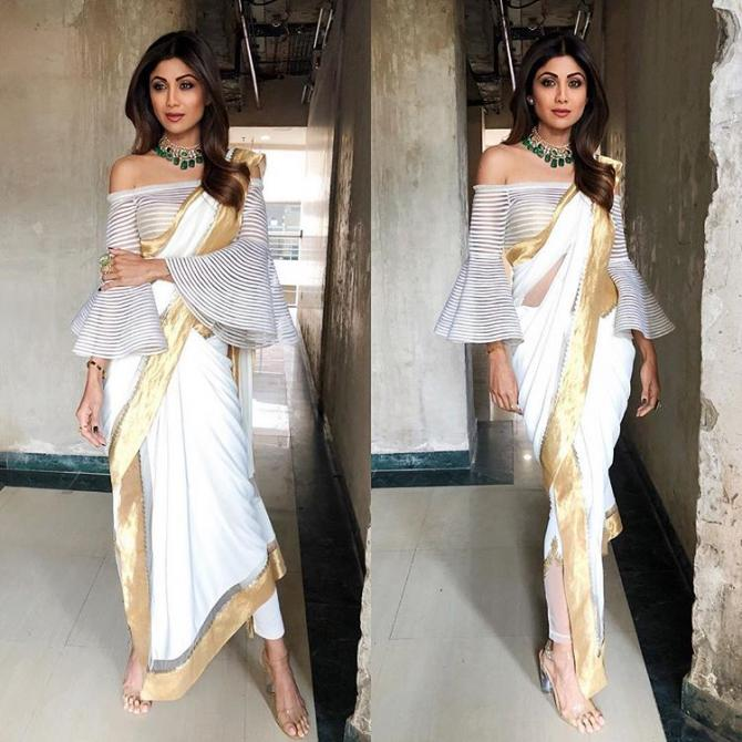 Saree Trends Of 2018 That Can Be Taken From The Super Sexy Mama