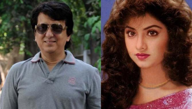Divya Bharti And Sajid Nadiadwala's Love Story: An Eternal ...  Divya Bharti An...