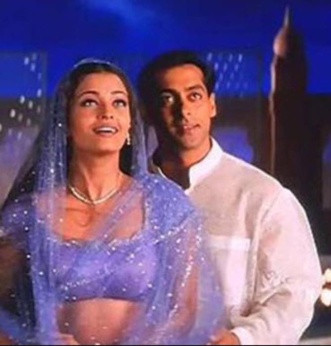 Salman and Aishwarya