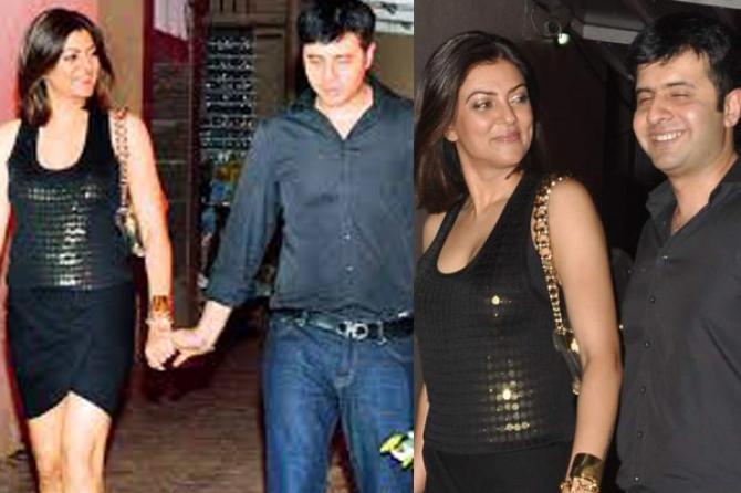 Sushmita Sen And Her Love Life