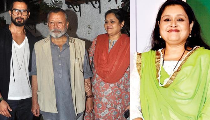 supriya pathak and shahid kapoor relationship