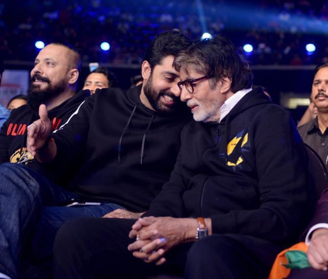 Amitabh Bachchan Says Abhishek Bachchan Is His Best Friend