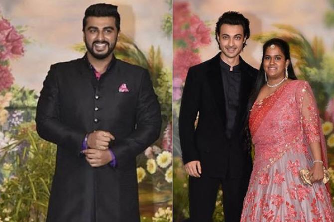 Arjun Kapoor and Ayush-Arpita