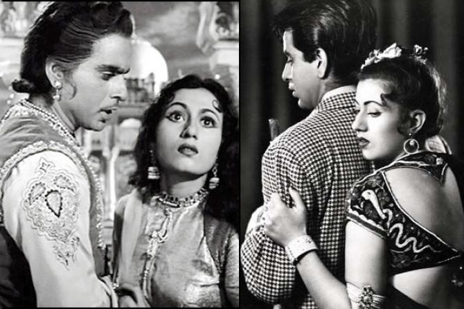 Dilip Kumar And Madhubala