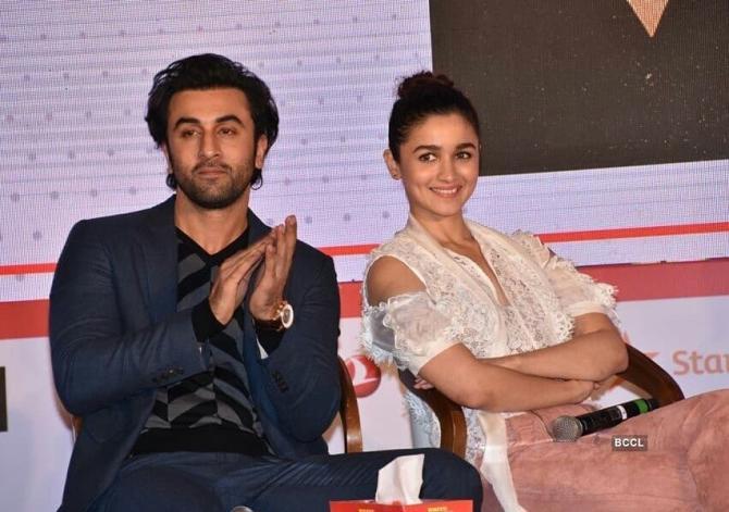 Ranbir Kapoor Reply On Alia Bhatt Crush On Him