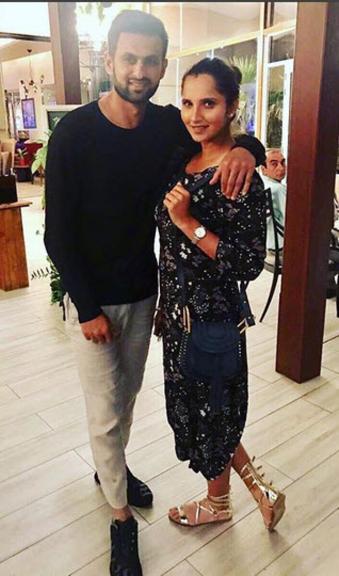 Sania Mirza Flaunts Her Baby Bump As She Returns From