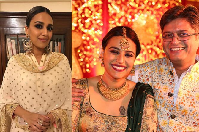 Swara Bhaskar and Himanshu Sharma