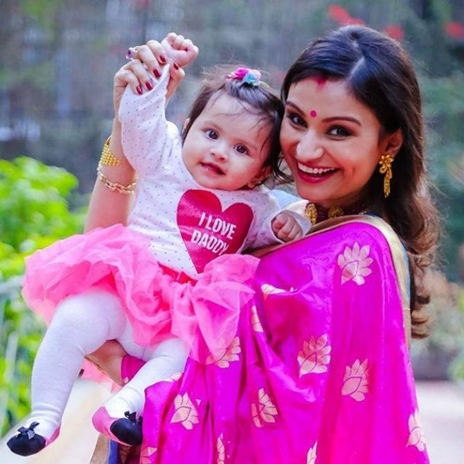 Dimpy Ganguly and Reanna