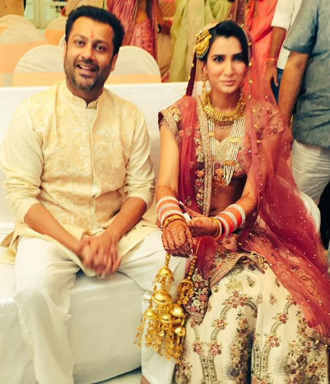 Abhishek Kapoor And Pragya Kapoor Wedding Pic