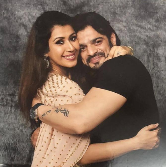 Ankita Bhargava and Karan Patel