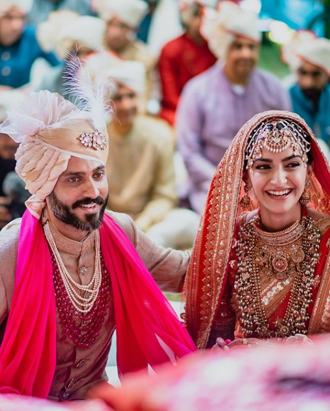 Sonam Kapoor Ahuja and Anand S Ahuja