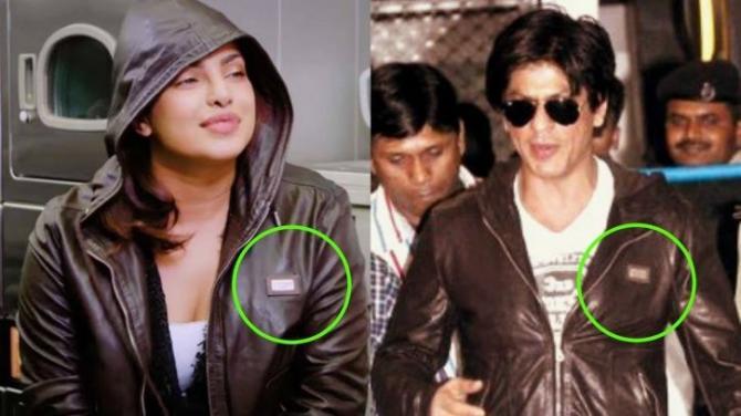 Priyanka and Shah Rukh Khan