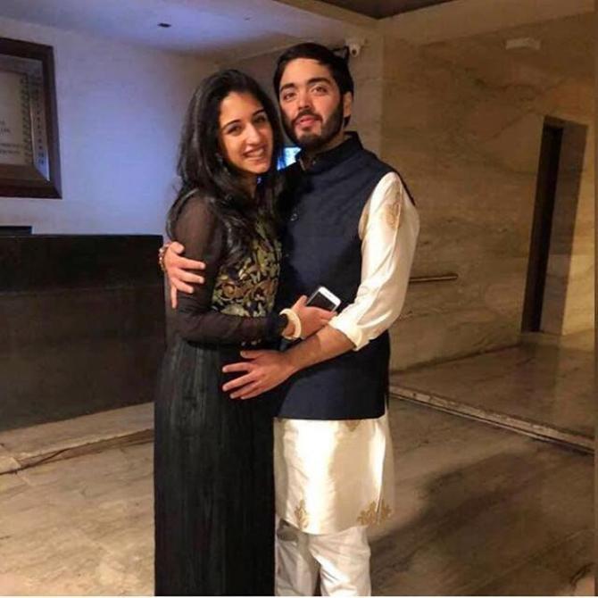 Anant Ambani and Radhika Merchant