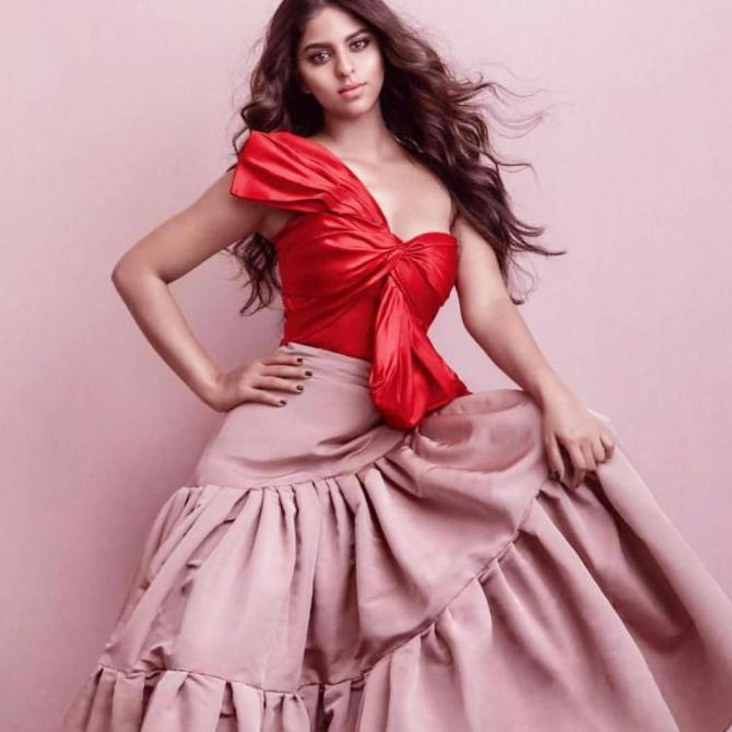 Suhana Khan On Vogue August Edition Cover