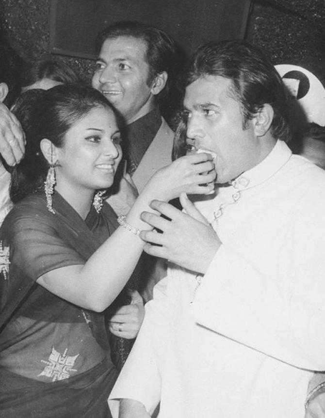 Rajesh Khanna And Anju Mahendru Love Story