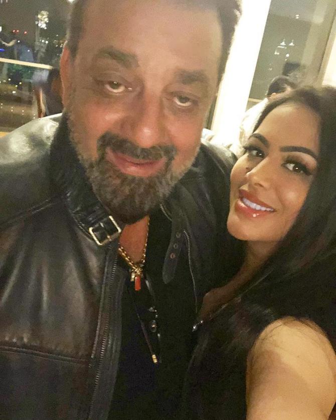 Sanjay Dutt and Trishala Dutt