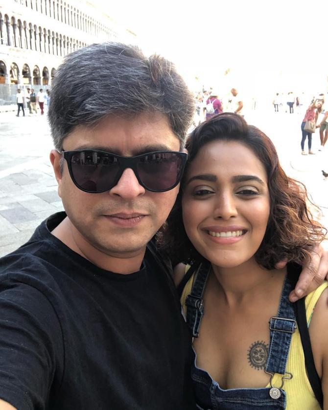 Swara Bhasker and Himanshu Sharma