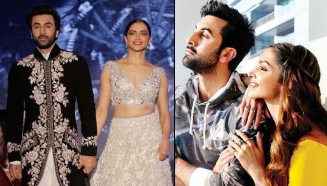 Deepika Padukone Gets Ranbir Kapoor's RK Tattoo Modified ...
