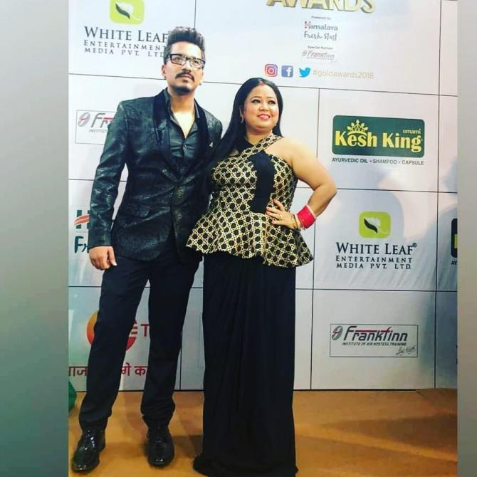Bharti Singh And Haarsh Limbachiyaa PDA