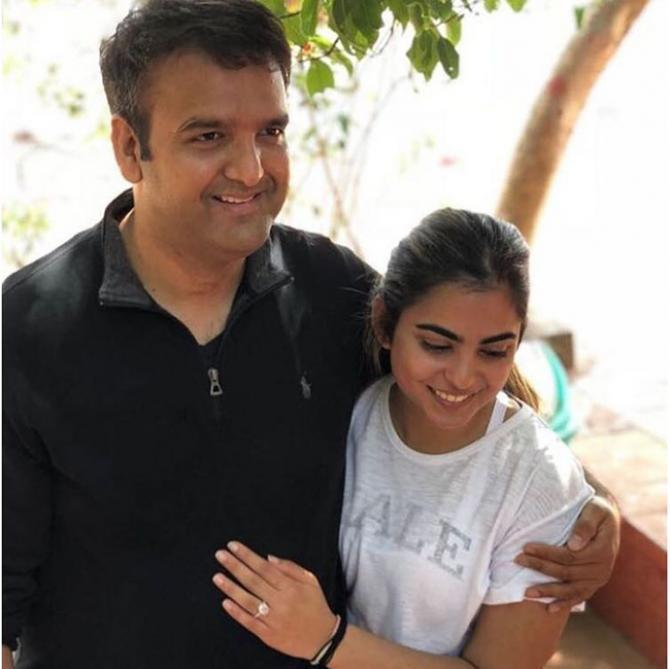 Anand Piramal and Isha Ambani
