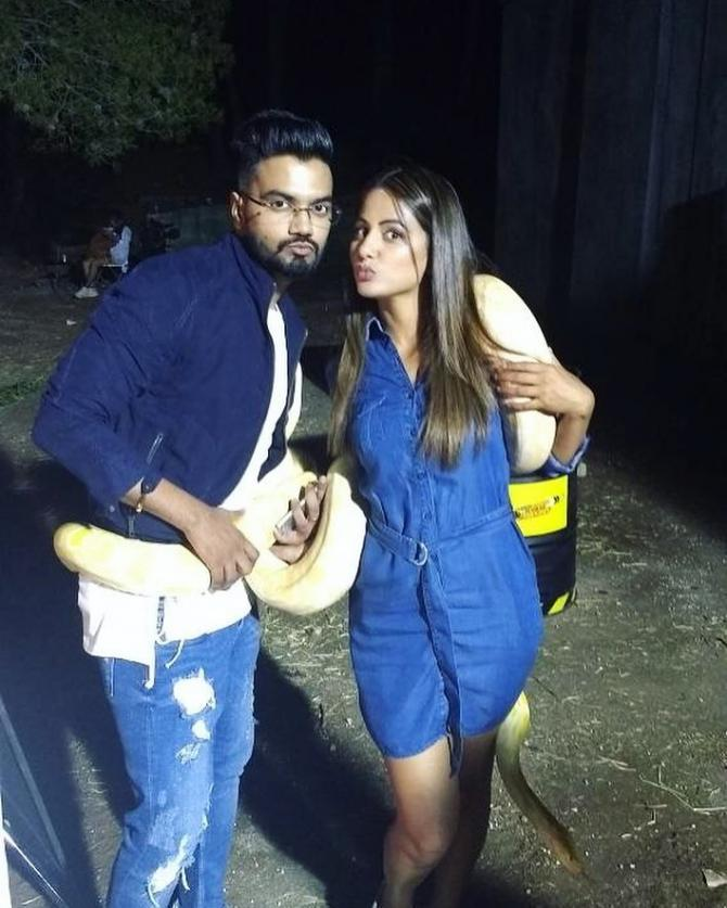 Hina Khan And Rocky Jaiswal S Love Story Everything From Falling In