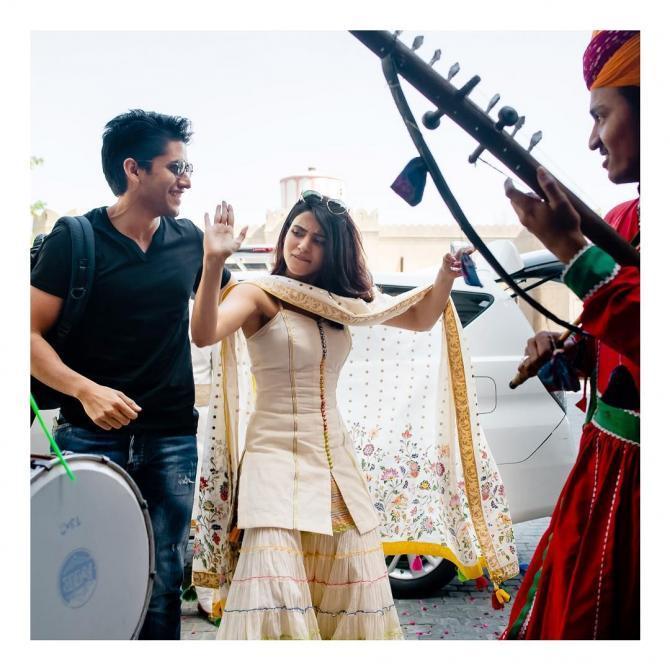 Naga Chaitanaya and Samantha